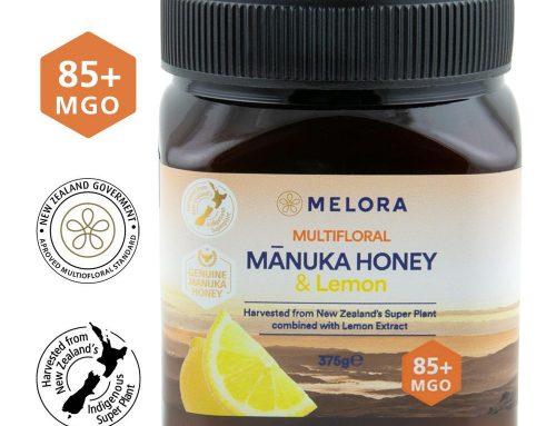 Miere de Manuka poliflora cu lamaie MANUKA LAB, MGO 85+ Noua Zeelanda, 375 g, naturala