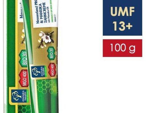 Pasta de dinti fara fluor, cu miere de Manuka MGO 400+ UMF 13+, Propolis BIO30, ulei de Manuka (100g)
