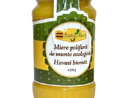 Miere Poliflora Eco Szasz Ilyes 500gr